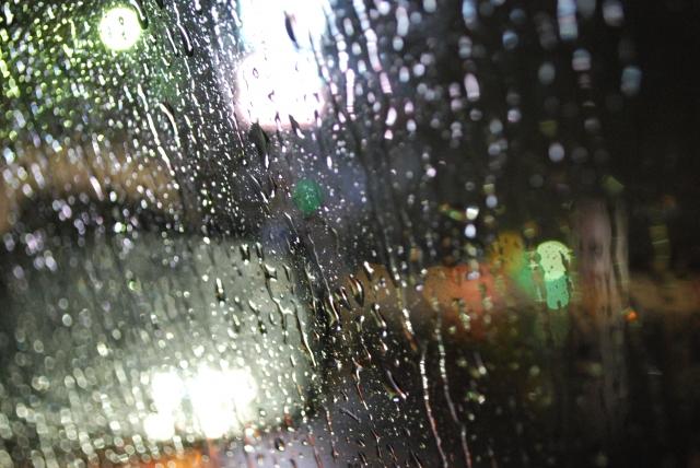 雨の日の視界