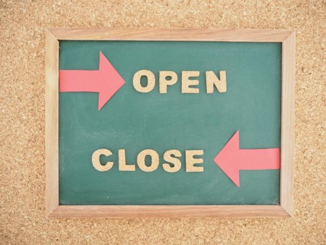 オープンクローズ