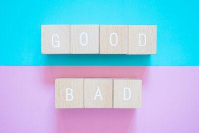 good・bad