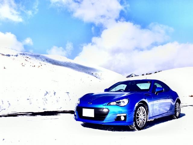 冬ドライブ